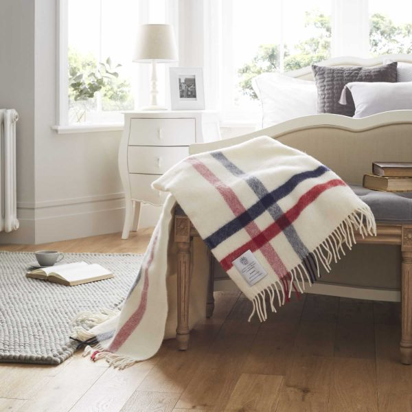 100% Wool Blanket Throw - Albion