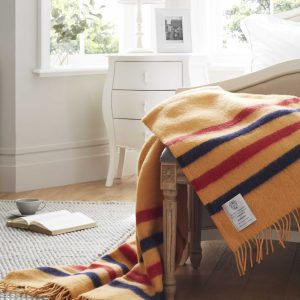 100% Wool Blanket Throw - Newmarket
