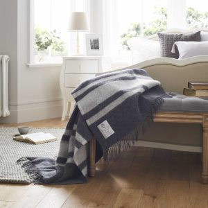 100% Wool Blanket Throw - Winston